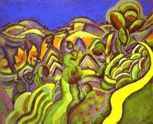 Ciurana, the Path — Жоан Миро