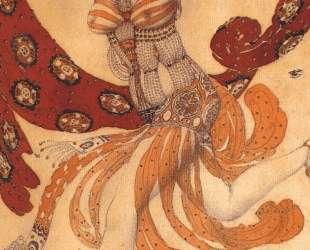 Клеопатра. Эскиз костюма к балету 'Клеопатра' — Леон Бакст