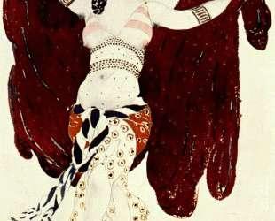 Эскиз костюма к балету 'Клеопатра' — Сирийская танцовщица — Леон Бакст