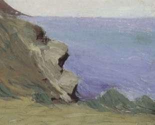 Утес над морем — Микалоюс Чюрлёнис