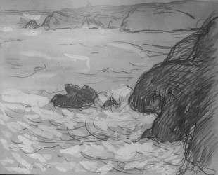 Cliffs and Sea — Максим Мофра