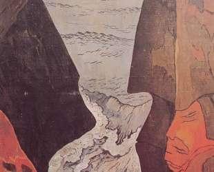 Cliffs near Camaret — Жорж Лякомб