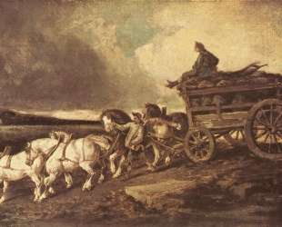 Coal cars — Теодор Жерико