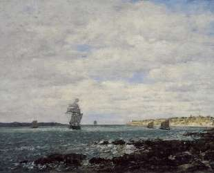 Coast of Brittany — Эжен Буден