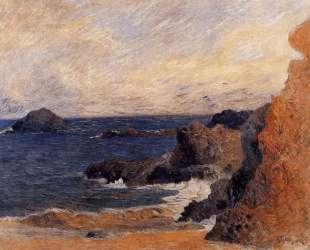 Прибрежный пейзаж — Поль Гоген