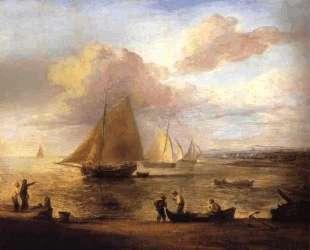 Coastal Scene, a Calm — Томас Гейнсборо