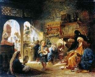 В Каирской кофейне — Константин Маковский