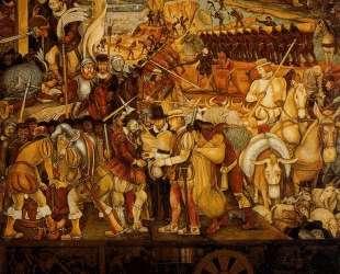 Colonisation, 'The Great City of Tenochtitlan' — Диего Ривера