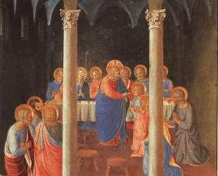Причащение Апостолов — Фра Анджелико