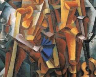 Композиция с фигурами — Любовь Попова