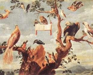 Concert Of Birds — Франс Снейдерс