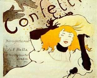Confetti — Анри де Тулуз-Лотрек