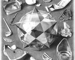 Contrast (Order and Chaos) — Мауриц Корнелис Эшер