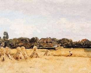 Corn Sheafs In Gooi — Корнелис Вреденбург