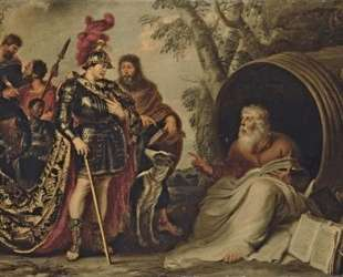Alexander and Diogenes — Корнелис де Вос