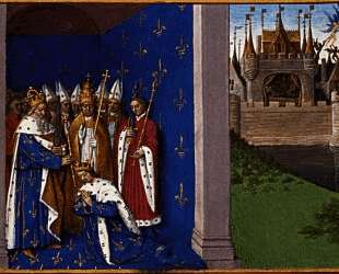 Coronation of Louis the Pious — Жан Фуке