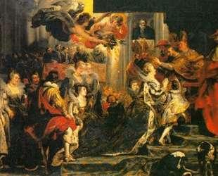 Coronation of Marie de Medici — Питер Пауль Рубенс