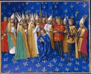 Coronation of Philippe Auguste — Жан Фуке