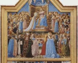 Коронация Девы Марии — Фра Анджелико