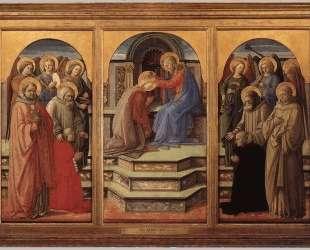 Coronation of the Virgin — Филиппо Липпи