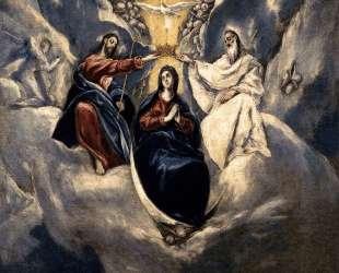 Коронация Девы Марии — Эль Греко