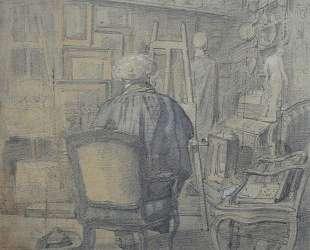Коро в студии Константа Дютийе — Камиль Коро