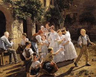Corpus Christi Morning — Фердинанд Георг Вальдмюллер
