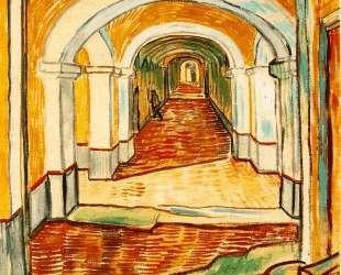 Corridor in the asylum — Винсент Ван Гог