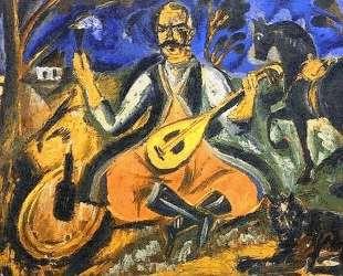 Козак Мамай — Давид Бурлюк