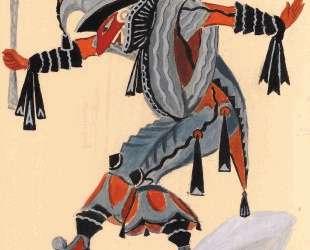 Costume design for 'Venetian madmen' — Jester — Сергей Судейкин