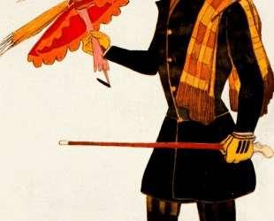 Эскиз костюма к балету 'Волшебная лавка' — Англичанин — Леон Бакст