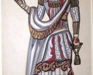 Costume study for a chancelor from 'The Magic Flute' — Сергей Судейкин