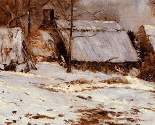 Cottages in the Snow — Максим Мофра