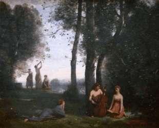 Деревенский концерт — Камиль Коро