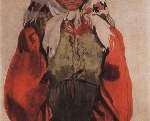 Деревенская девушка — Зинаида Серебрякова