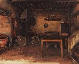 Деревенская кухня в окрестностях Буджиано — Зинаида Серебрякова