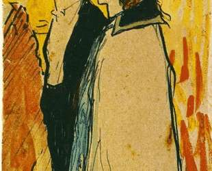 Couple walking — Пабло Пикассо