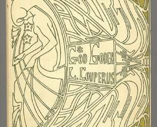 Cover for 'God en goden' by Louis Couperus — Ян Тороп