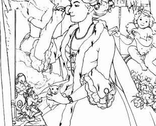 Обложка журнала мод Парижанка — Константин Сомов