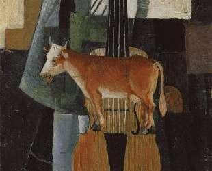 Корова и скрипка — Казимир Малевич