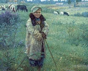 Пастушок Прошка — Николай Богданов-Бельский