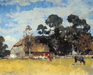Cows in a meadow — Корнелис Вреденбург