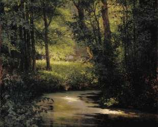 Лесной ручей — Григорий Мясоедов