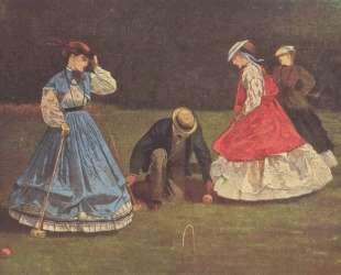 Croquet Scene — Уинслоу Хомер