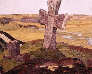Крест на Труворовом городище — Николай Рерих