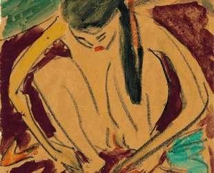 Crouching Girl — Эрнст Людвиг Кирхнер