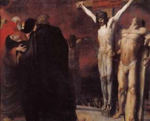 Crucifixion — Франц фон Штук