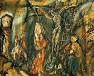 Crucifixion (Golgotha) — Оскар Кокошка