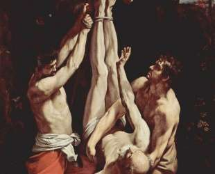 Crucifixion of St. Peter — Гвидо Рени