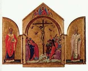 Crucifixion triptych — Дуччо